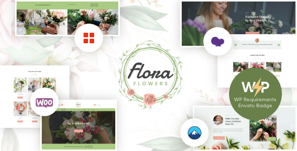 Top Flowers Boutique and Florist WordPress Theme