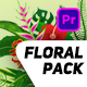 Floral Design Pack - VideoHive Item for Sale