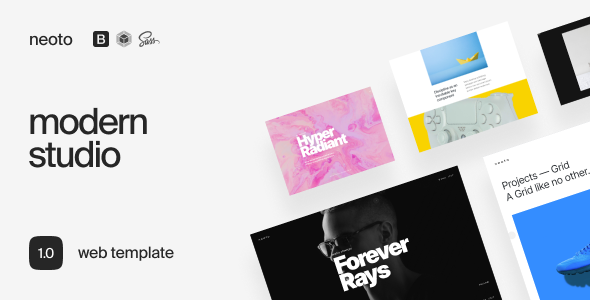 Neoto – Creative Studio Portfolio Template