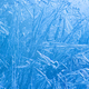 Frozen ice flowers cold season background close-up photo. - PhotoDune Item for Sale
