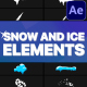 Snow And Ice Elements | After Effects