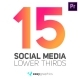 Clean Rounded Social Media Lower Thirds - VideoHive Item for Sale