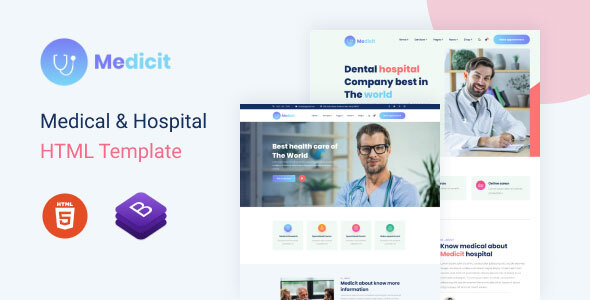 Medicit – Medical and Health Html Template