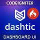 Dashtic - CodeIgniter Admin & Dashboard Template