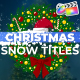 Christmas Snow Titles | FCPX - VideoHive Item for Sale