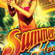 Summer Heat  Flyer Template - GraphicRiver Item for Sale