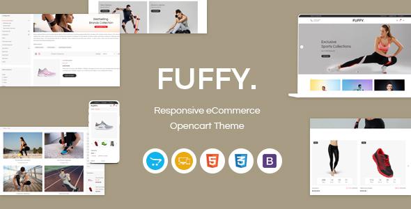 Fuffy - Responsive OpenCart Theme