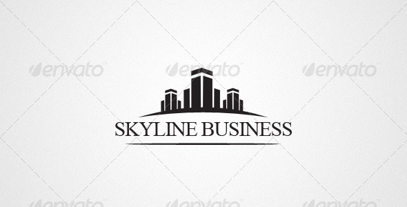 Business & Consulting Logo - Buildings Logo Templates