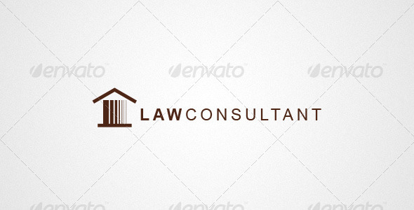 Attorney & Law Logo - Buildings Logo Templates