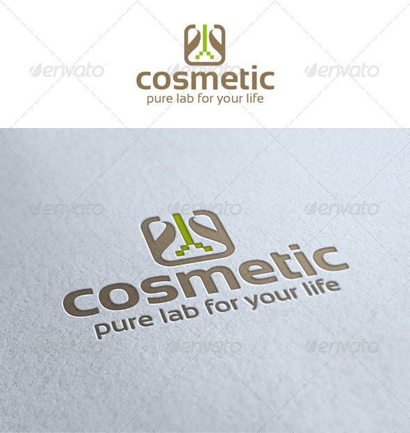 Pure Lab Cosmetic Logo - Symbols Logo Templates