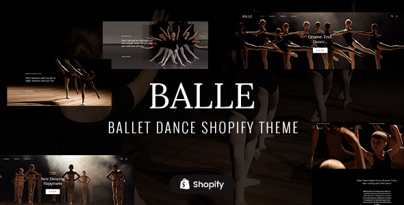 Balle - Dance Studio Shopify Theme