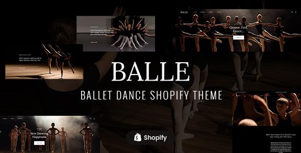 Balle - Dance Studio Shopify Theme