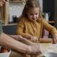 Mother and daughter preparing Christmas cookies - PhotoDune Item for Sale