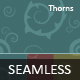 Seamless / Tileable Thorn Swirl Pattern - 3 Color - GraphicRiver Item for Sale