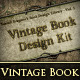 Vintage Book Design Kit - GraphicRiver Item for Sale