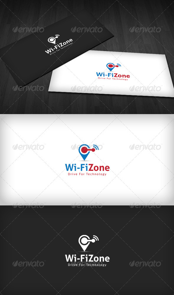 Wifi Zone Logo - Objects Logo Templates