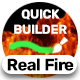 Real Fire | Quick Builder - VideoHive Item for Sale