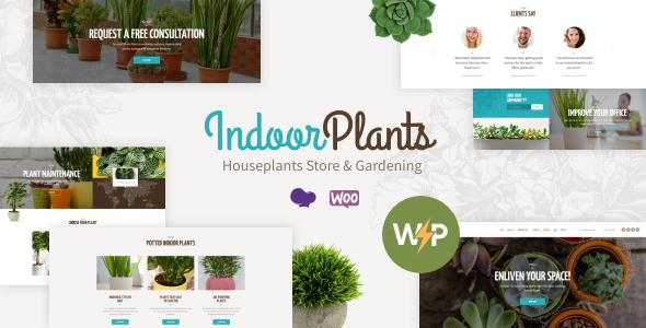 Indoor Plants | Houseplants store & Gardening WordPress Theme
