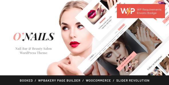 O'Nails - Nail Bar & Beauty Salon Wellness WordPress Theme