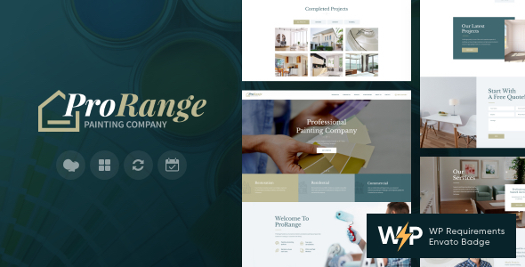 ProRange | Painting & Renovation Construction Company WordPress Theme
