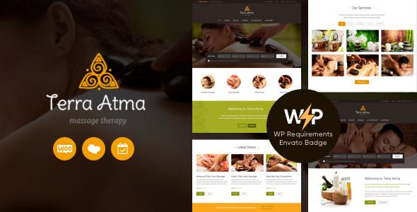 Terra Atma | Spa & Massage Salon Wellness WordPress Theme