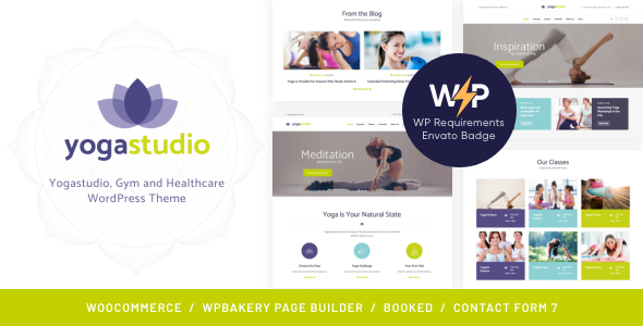 BeYoga | Yogastudio & Gym WordPress Theme