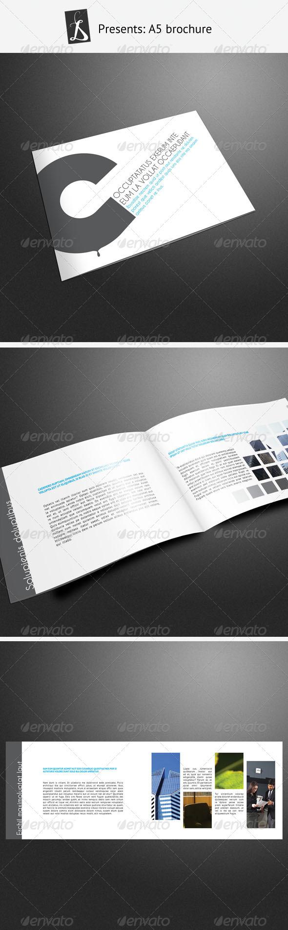 A5 Brochure 4 - Corporate Brochures