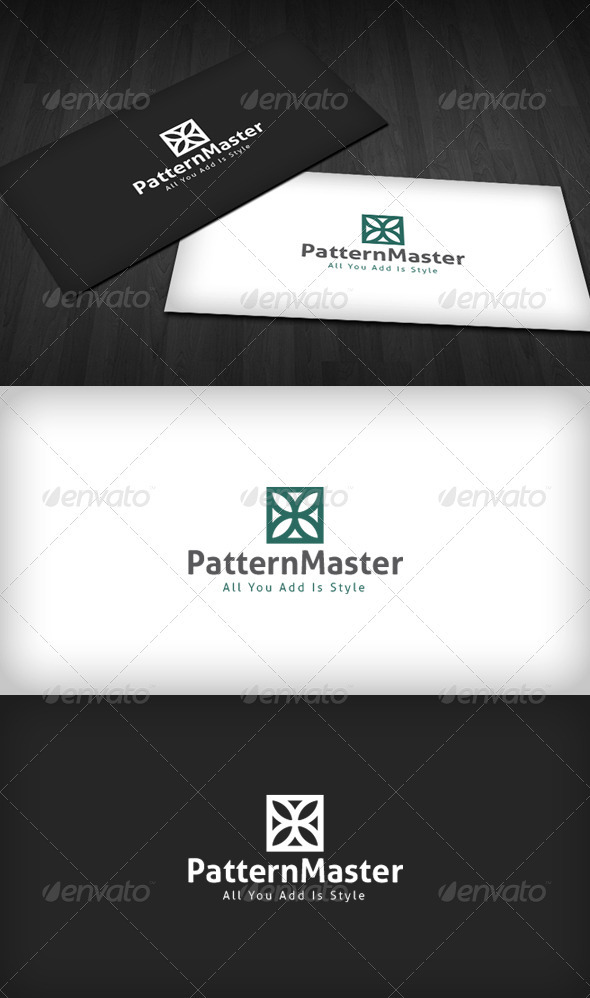Pattern Master Logo - Vector Abstract