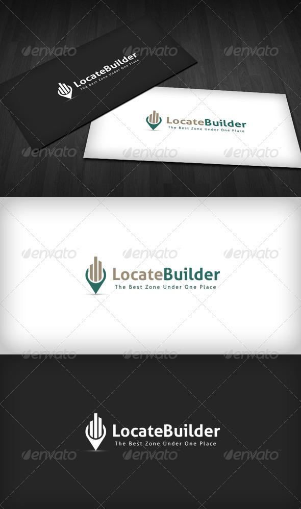 Locate Builder Logo - Symbols Logo Templates