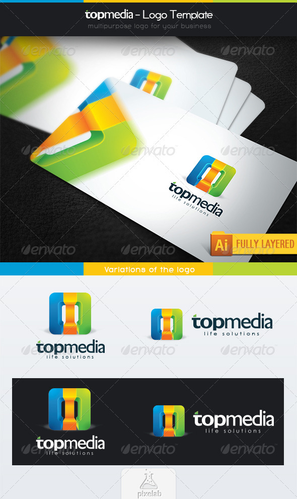 Topmedia - Logo Template - Abstract Logo Templates