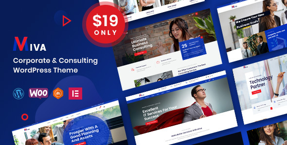 Miva - Business Consulting WordPress Theme