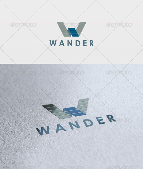 Wander Logo - Letters Logo Templates