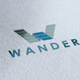 Wander Logo - GraphicRiver Item for Sale