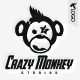 Crazy Monkey Studios Logo - GraphicRiver Item for Sale