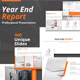 Year End Report Powerpoint Presentation Template