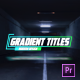 Glow Glitch Titles - VideoHive Item for Sale
