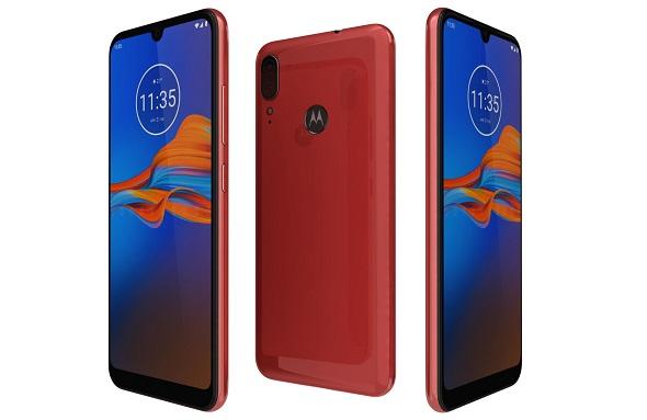 Motorola Moto E6 Plus Bright Cherry