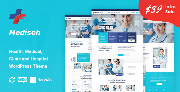 Medisch - Health & Medical WordPress Theme