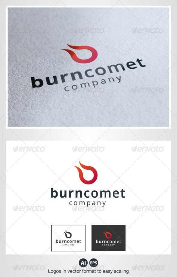 Burn Comet Logo - Symbols Logo Templates