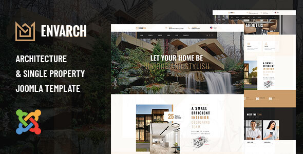 EnvArch - Architecture and Single Property Joomla Template