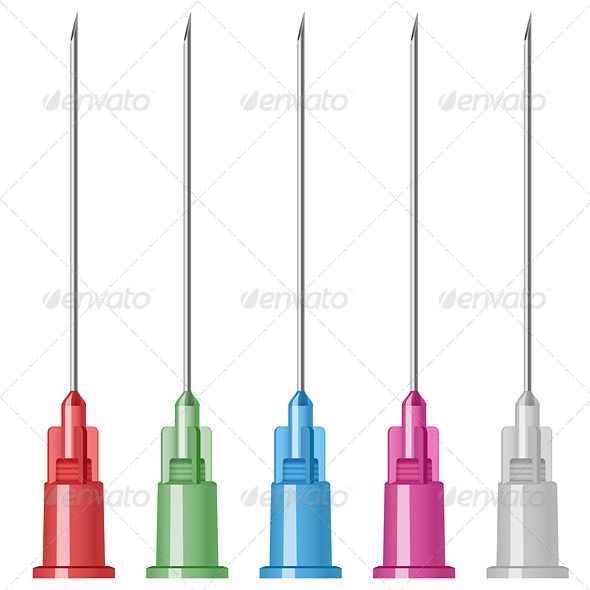 Medical needles - Health/Medicine Conceptual