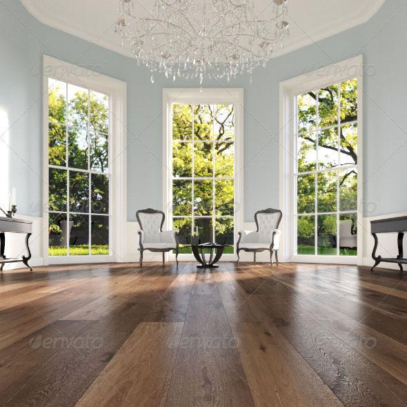 20 Wood Floor Planks - Truffle - 3DOcean Item for Sale
