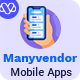 Manyvendor Multi-vendor Customer Mobile App - Flutter iOS & Android