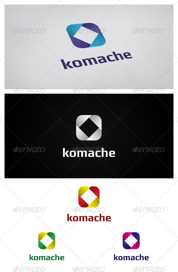 Komache - Abstract Logo Templates