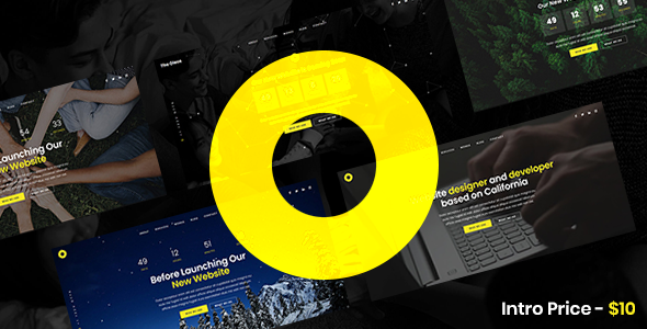 Oleos – Creative Coming Soon Website Template