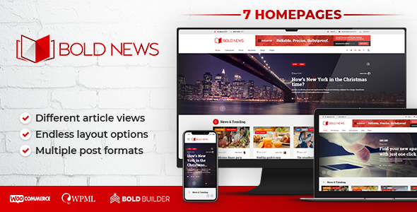 Wonderful Bold News - Magazine & Newspaper
