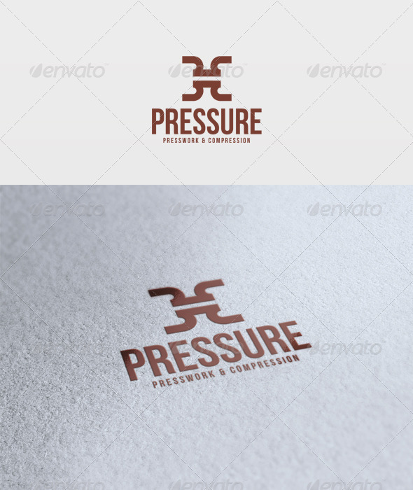 Pressure Logo - Vector Abstract