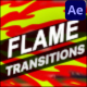Flame Transitions | After Effects - VideoHive Item for Sale