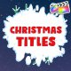 Christmas Titles | FCPX - VideoHive Item for Sale