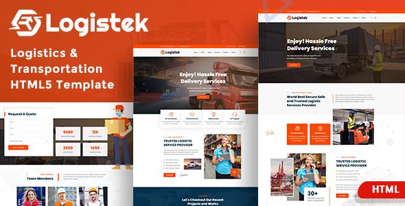 Logistek - Logistics & Transportation Template